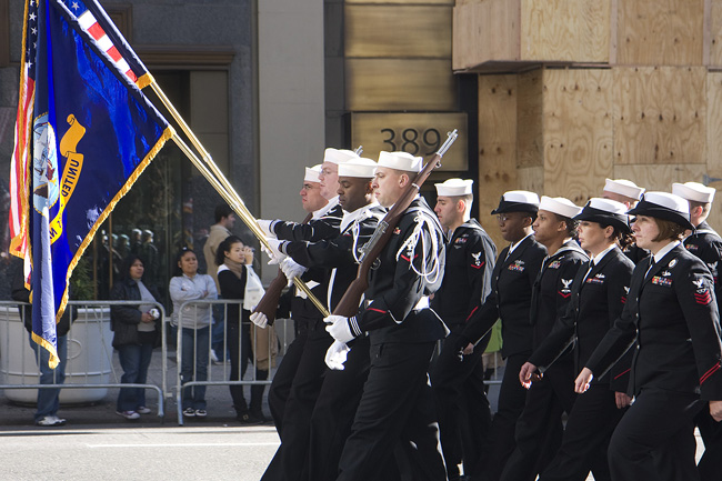 2010 Veteran's Day, NYC