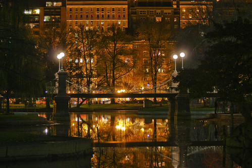 Boston Garden Pond