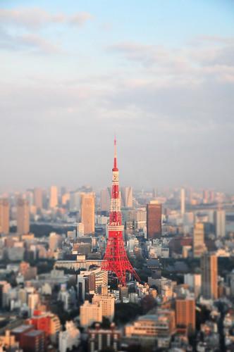 [フリー画像素材] 建築物・町並み, 都市, 塔・タワー, 東京タワー, 風景 - 日本 ID:201110081600