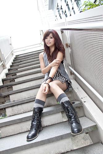 [フリー画像] 人物, 女性, アジア女性, 201011182100