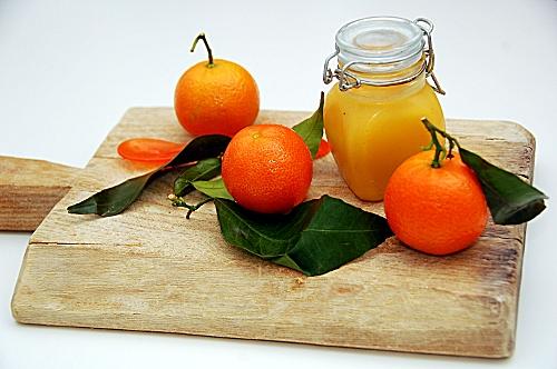 tangerine curd (senza burro)