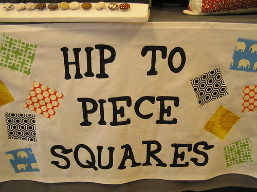 New HipToPieceSquares collaborative sign