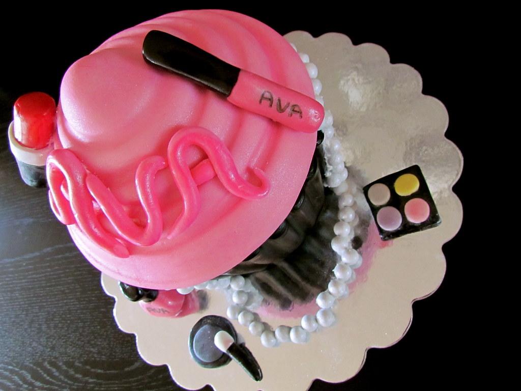 Mac Diva Birthday Cake