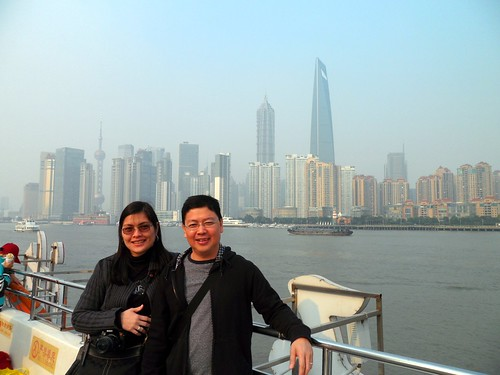 Cruising on the Bund (Huangpu River)