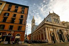 Basilica Sacre Cuere (dprezat) Tags: rome roma italia religion termini sacrécoeur eglise basilique jésus catholicisme sonyalpha700 basilicasacrecuere