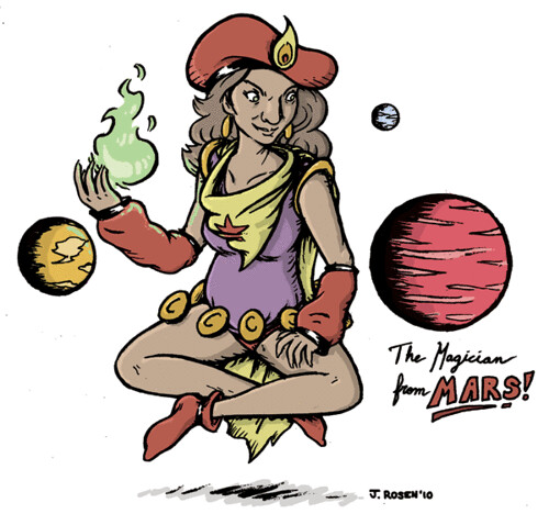The Magician from Mars