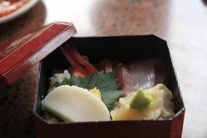 浅草屋形船 あみ清のちらし寿司