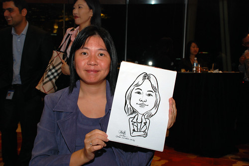 caricature live sketching for 2010 Asia Pacific Tax Symposium and Transfer Pricing Forum (Ernst & Young) - 7