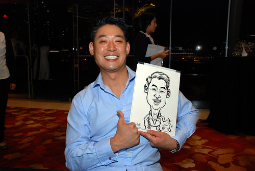 caricature live sketching for 2010 Asia Pacific Tax Symposium and Transfer Pricing Forum (Ernst & Young) - 21