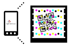 QR+mstag_qrarts (qrarts) Tags: code qr microsofttag mstag vanitybarcodes qrarts hybridqrcodemstag custommstag mstagdesigner mstagart custommicrosofttag designercode
