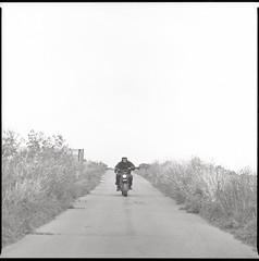 Ranch (shimobros) Tags: ranch trip blackandwhite bw film bike offroad kodak tmax dirt bronica 400 squareformat moto motorcycle sq nagano basic 200m tmy  zenza