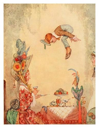 003-Ilustracion del cuento La bondadosa tia Galladia-Bill the minder 1912-W. Heath Robinson