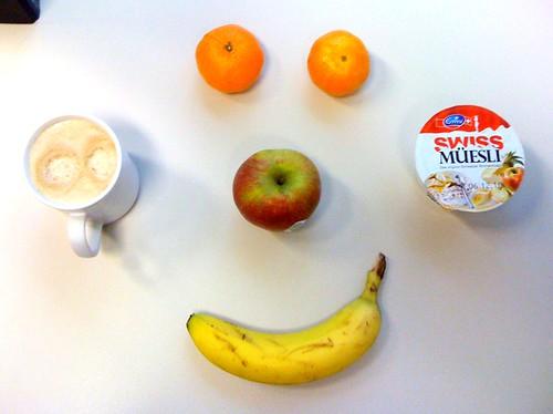 Swiss Müesli, Boskoop, Clementinen & Banane