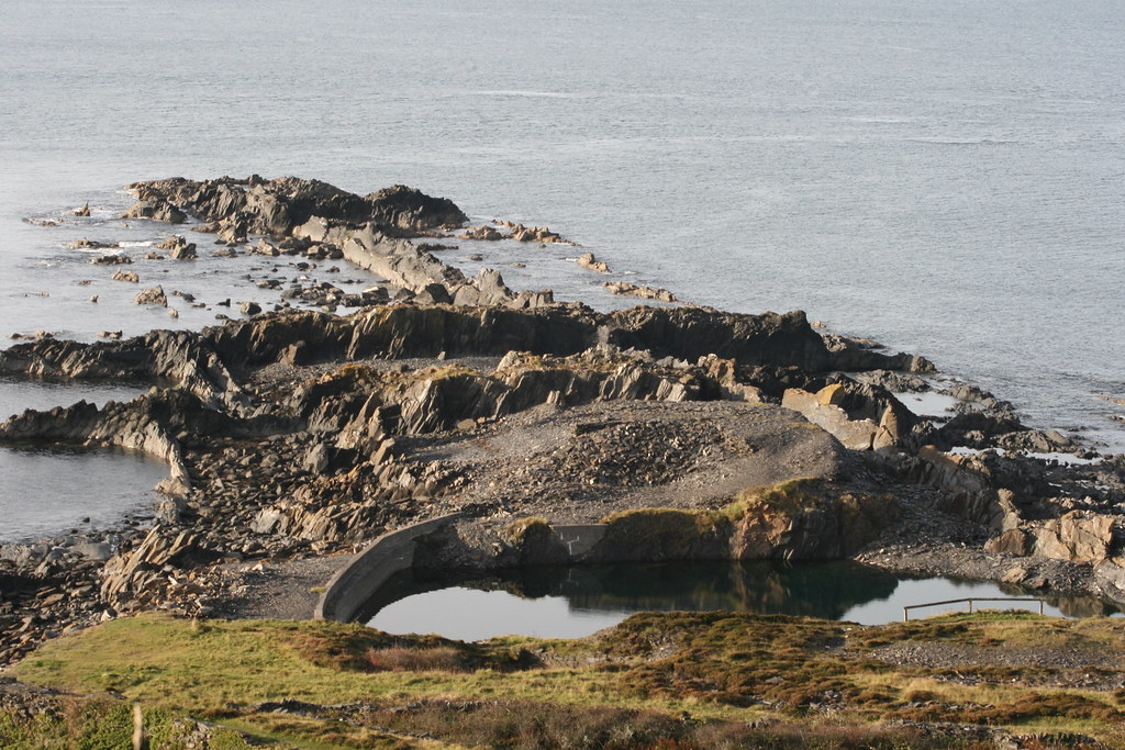 Slate Quarries, Easdale Island