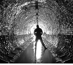 The tunnel shot (A self portrait) (Craig Hannah) Tags: pictures uk england water underground manchester photography photos yorkshire tunnel images reservoir lancashire photographs moors oldham greater greenfield pennine culvert dovestones saddleworth chewvalley greatermanchester westriding ashwaytunnel craighannah