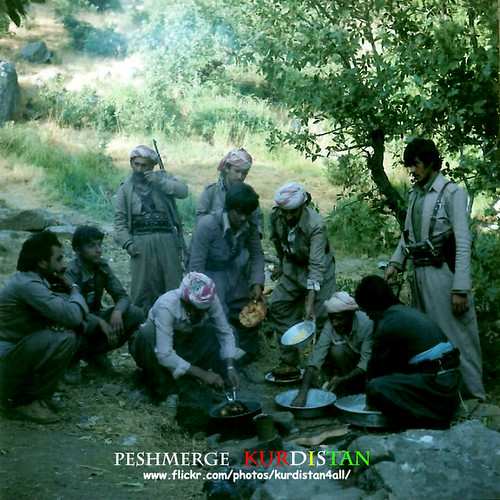 peshmerge   Kurdistan 1988
