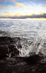 Explosive Shore (Jay Arpin) Tags: wave splash lakesuperior thunderbay sleepinggiant crashingwave jasonarpin jayarpin sleepyg