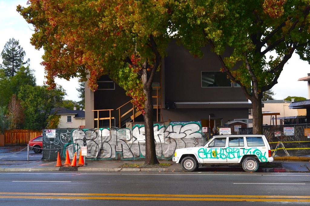 SCUM, BKUZ, FTL, Graffiti, Oakland, Street Art
