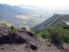 the rugged Lasta mountains (Linda DV) Tags: africa travel nature canon landscape geotagged ethiopia 2010 powershots5is lindadevolder