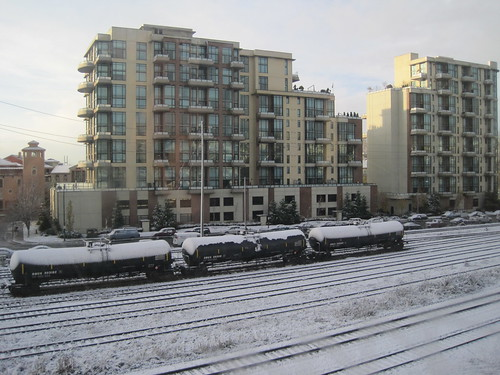 Snow in Greater Vancouver