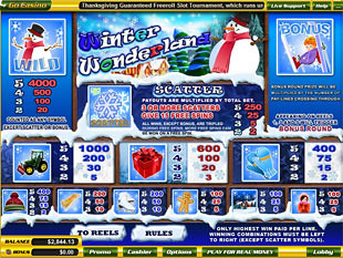 free Winter Wonderland slot mini symbol