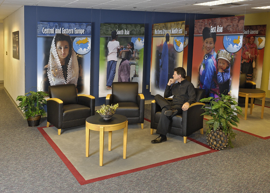 Featured Project: International Mission Board Welcome Area