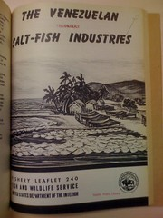Venezuelan salt-fish industries cover