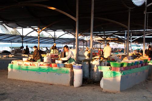 Market in Tashkent, Uzbekistan