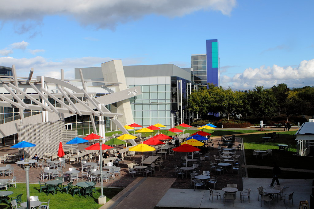 Google campus, Mountain View, CA