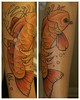 Koi tattoo Tattoo by Tim