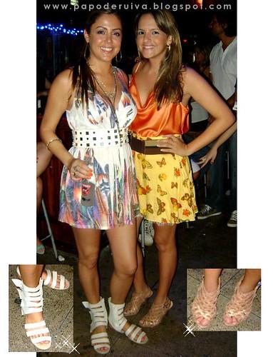 Thais Japequino e Lara Correia - Órbita Bar 21/11/2010
