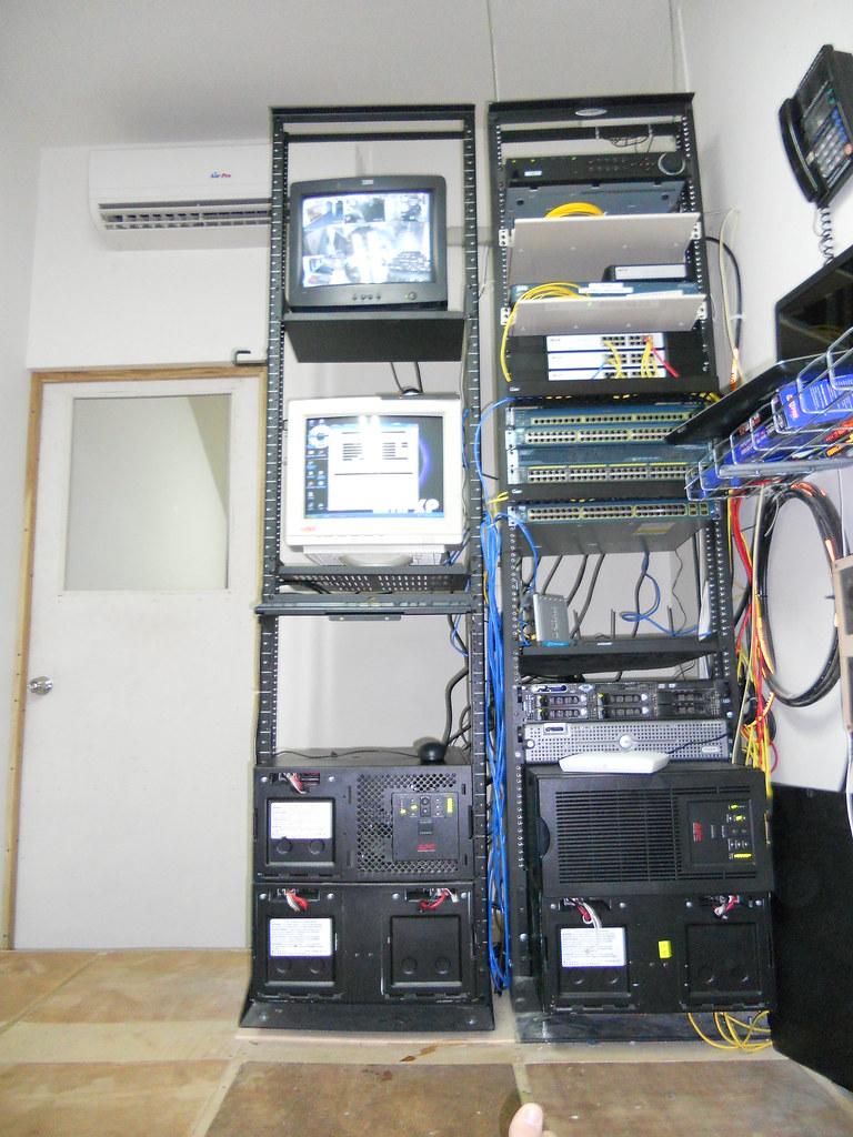 Costa Rica's Call Center Server Room.