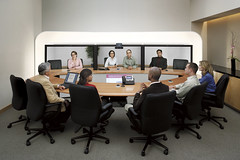 Cisco TelePresnce System 利用イメージ