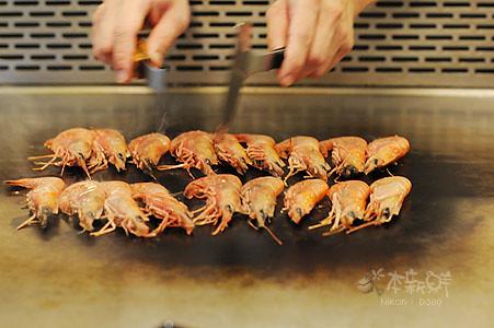 肥美的甜蝦