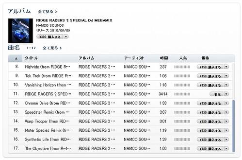 RIDGE RACERS 2 SPECIAL MEGAMIX