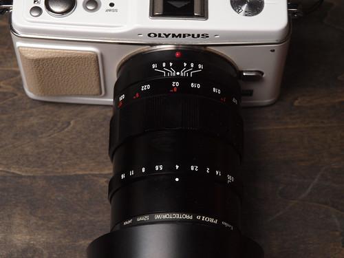 Cosina/Voigtlander Nokton 25mm F0.95 + Olympus/Pen E-P1