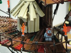 Ewok hut (brickplumber) Tags: starwars endor starwarslego fbtb
