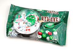 M&Ms Mint Bag