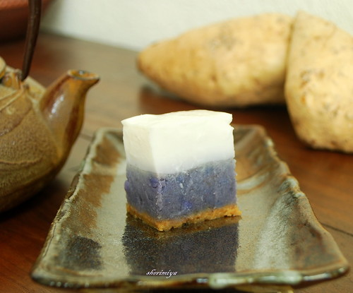 Happy Little Bento Okinawan Sweet Potato Haupia Pie