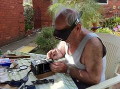 Sergon Evanian Rolleiflex 3.5F repair (jiulong) Tags: sydney australia repair nsw rolleiflex35f