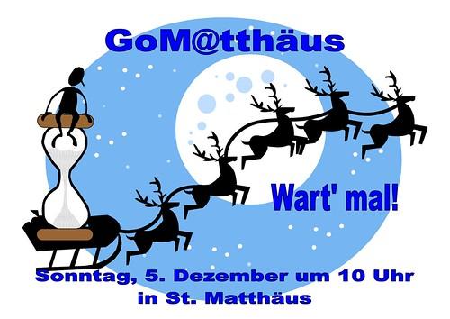 GoMatthaeus Gottesdienst