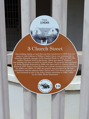 Photo of Orange plaque № 5110