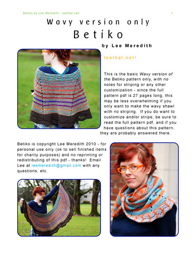 Betiko - Wavy Version Only pdf