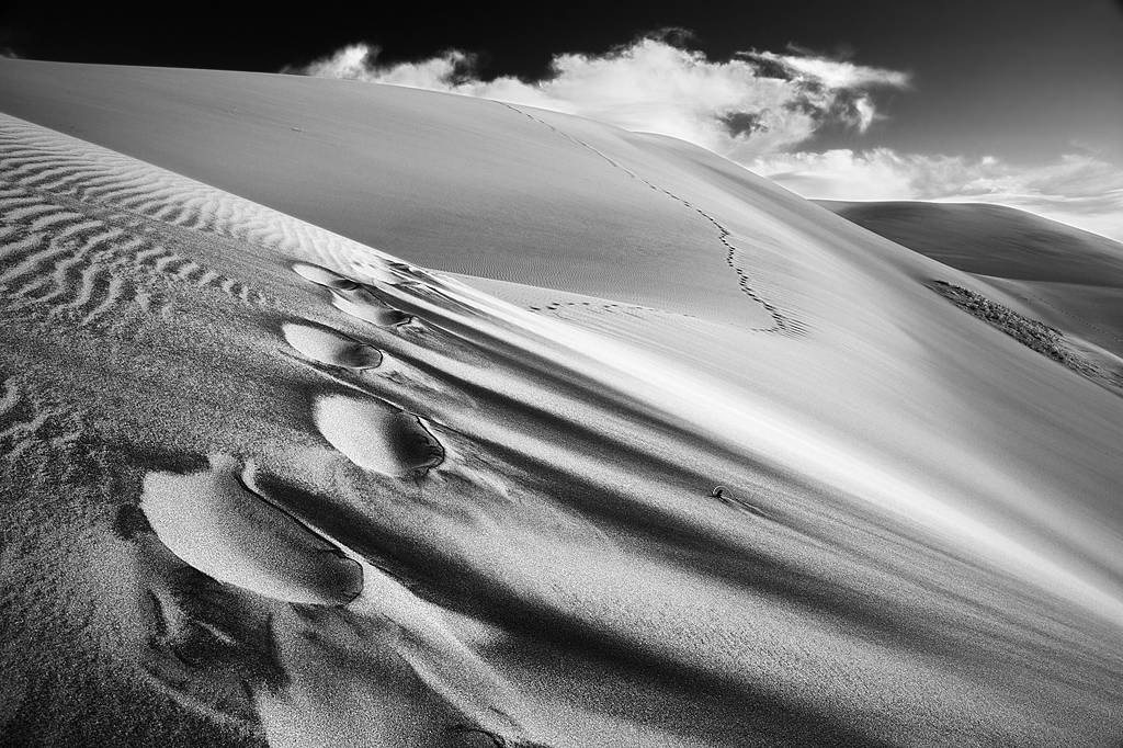 Etch-a-Sketch:  Great Sand Dunes, Colorado