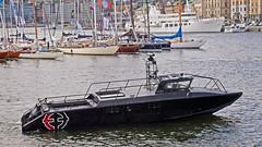 The charter boat Korpen in Stockholm (Franz Airiman) Tags: stridsbåt korpen charter öppethav charterbåt charterboat boat ship fartyg stockholm sweden scandinavia båt