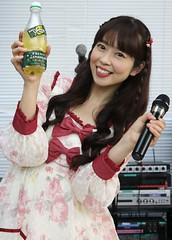 When Life Gives You Lemons (emotiroi auranaut) Tags: woman lady sing singer lovely pretty attractive nice charming cute adorable drink lemongina dress smile smiling happy happiness fun japan japanese sweet cheerful gorgeous grin grinning