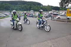 IMG_9357 (Christophe BAY) Tags: mobyltettes francorchamps 2017 rétromobile club spa circuit moto vespa camino flandria