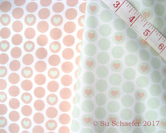 'Peach + cucumber...' and 'Cucumber + peach heart polka dots by Su_G': on basic cotton ultra (Su_G) Tags: sug 2017 pinkandgreen peach cucmber polkadots polkadot spoonflower swatch basiccottonultra colourreversals colourreversalpair wedding peachandwhite cucumberandwhite peachandcucumberandwhite cucumberandpeachandwhite cucumberpeachandwhite peachcucumberandwhite spoonflower0341 weddingpalette weddingseasonlimitedcolorpalette weddingseason limitedcolorpalette pastelcolours pastelcolors bride romantic love heart quirky heartindot heartincircle