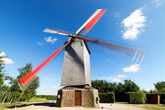 Wooden giant (Pap_aH) Tags: papah moulin mill windmil france nord steenvoorde 2017 paysage landscape expositionlongue longexposure