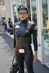 Adrianne Curry- Officer of the Empire! (homie bear) Tags: starwars cosplay comiccon sdcc sandiegocomiccon adriannecurry imperialofficer